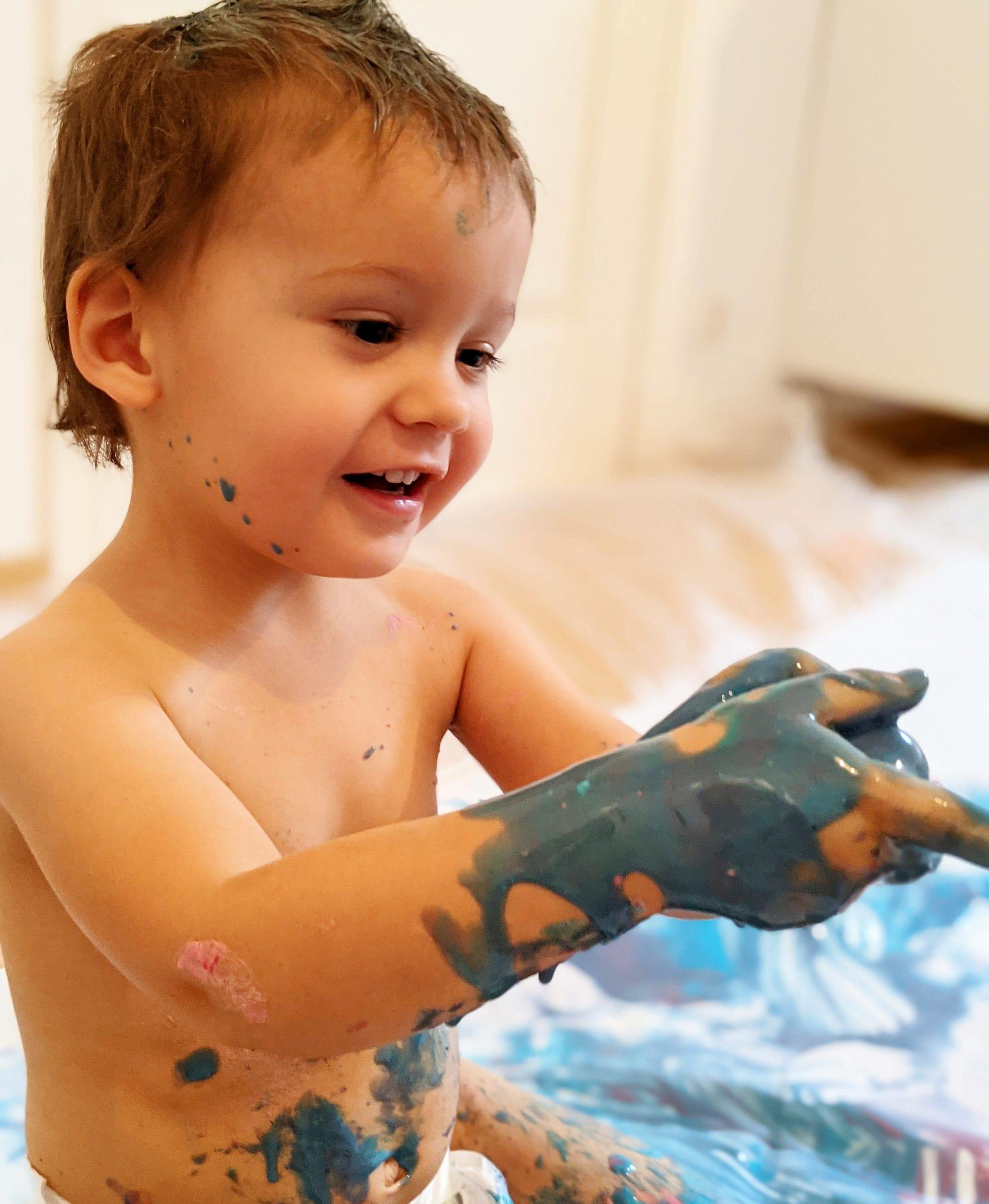 Le 28/05, atelier de peinture bébé chez 123 SOLENE, 13001 – 9h30
