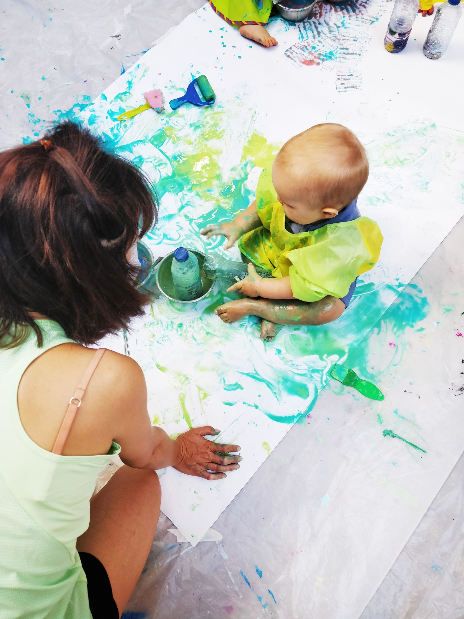 Le 18/06, atelier de peinture bébé chez ESPACE 10MIL, 13005 – 10h