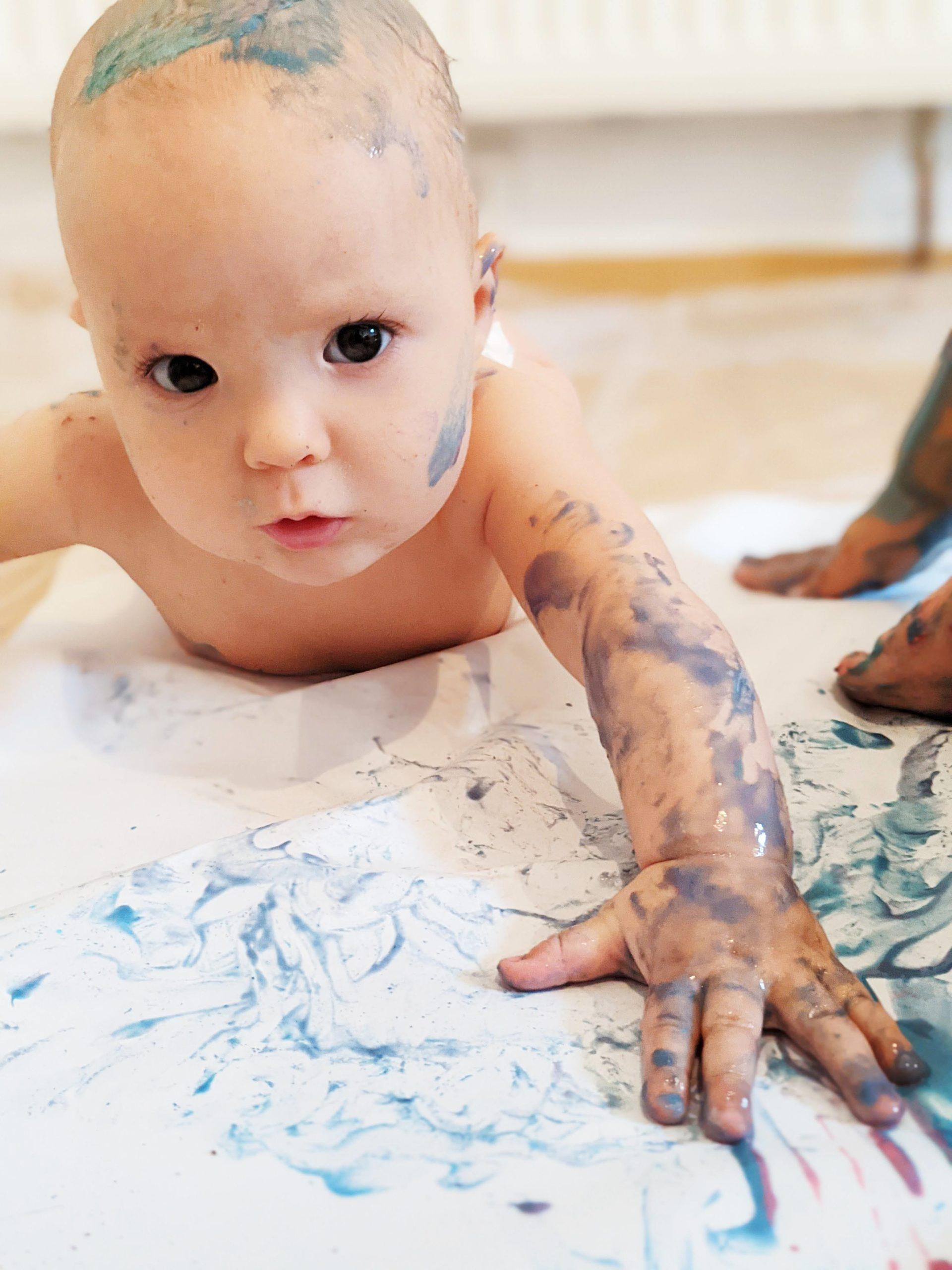 Le 08/10, atelier peinture bébé chez 123 SOLENE, 13001 – 10H
