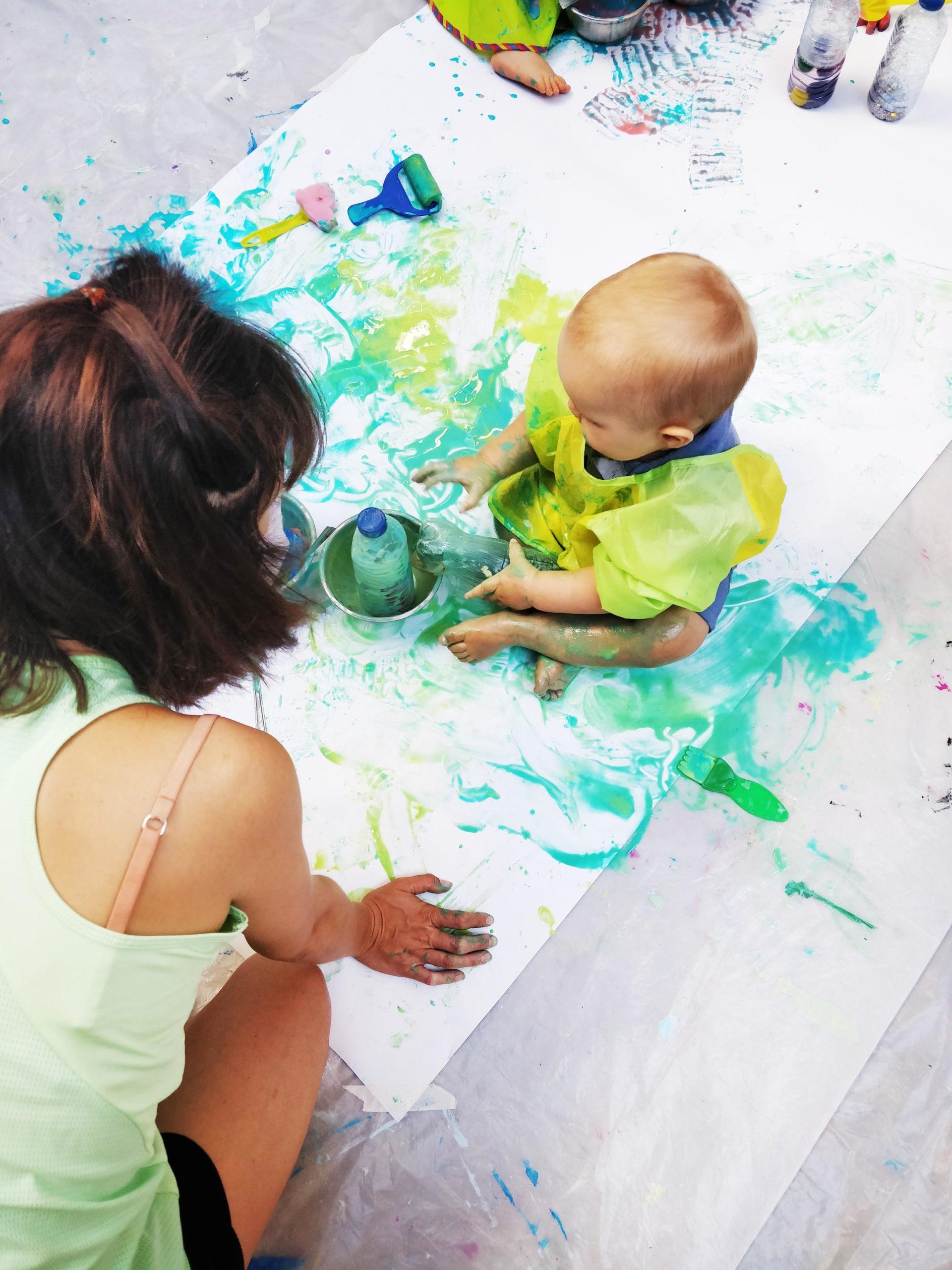 Le 25/09, atelier de peinture bébé chez 123 SOLENE, 13001 – 10H